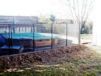piscine sans barrière
